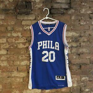 Markelle Fultz Philadelphia 76ers Sixers NBA Adidas Swingman Jersey Large +2