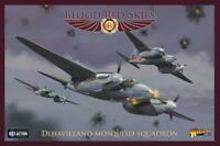 DE HAVILLAND MOSQUITO SQUAD- BLOOD RED SKIES -  WARLORD GAMES - WW2 -1ST CLASS