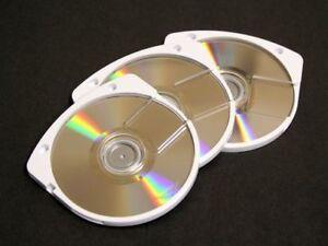 LOT DE 5 UMD - PSP NEUFS (SANS BOITIER) LISTE CI-JOINTE ***