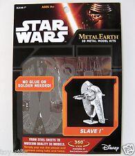 METAL Earth Star Wars Slave 1 - 3D METAL MODEL KIT-NUOVISSIMA SIGILLATA!
