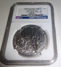 2015 Rwanda African Ounce Series BUFFALO Early Release NGC MS 70 Silver Coin