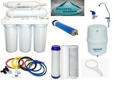 RO Water Filter Reverse Osmosis System 5 Stages Water Filtration - 100 GPD