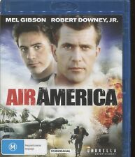 AIR AMERICA - Mel Gibson, Robert Downey Jr., Nancy Travis - BLU-RAY DISC