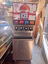 Frozen Beverage Dispenser Fbd564 4 Barrel Flavor slushy machine Icee / Slurpee