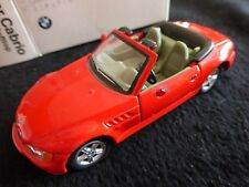 BMW 3er Cabrio Modellauto 1:87 Scale - Good Condition but missing Wing Mirror