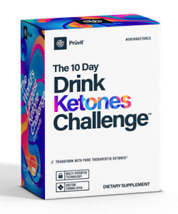 Pruvit The 10 Day Drink Ketones Challenge 20 Packets Box Sealed FREE SHIPPING!!