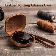 Glasses Case Box Sunglass Protector Travel Hard Eyeglass Zip w/ Belt Clip Shell