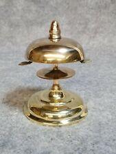 Victorian Brass Store Counter Bell