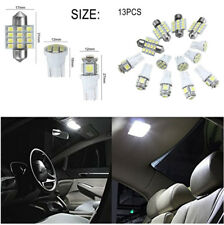 13Pcs T10 & 31mm License Plate Interior Lights Auto Car Lights Bulbs Kit White
