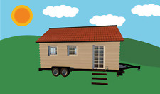 Tiny House PLANS on Wheels CD PDF Build a THOW