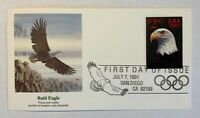 US Scott #2540 Bald Eagle $2.90 Priority Mail UNADDRESSED FDC Fleetwood
