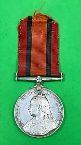 QUEEN'S SOUTH AFRICA MEDAL - Pte W. F. CHAMBERLAIN - GRAHAMSTOWN TOWN GUARD