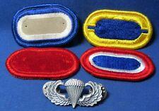 ROK South Korea Vietnam Era Parachutist Jump Wing Patch Insignia