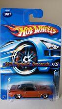 Hot Wheels 1970 Plymouth Barracuda Mopar Madness 1 Orange