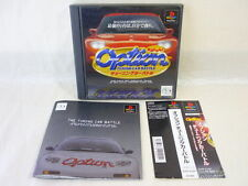 PS1 OPTION TUNING CAR BATTLE with SPINE CARD * Playstation PS Japan Game p1