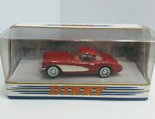 Dinky (Hotwheels) 1956 Red Chevrolet Corvette 1993 Production 1:43 Scale, Boxed