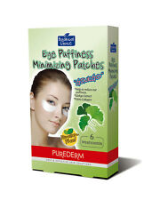 PUREDERM EYE PUFFINESS MINIMIZING PATCHES with GINKGO EXTRACT - 6 treatments