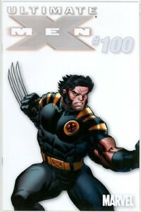 ULTIMATE X-MEN #100 WHITE RETAIL INCENTIVE VARIANT 1:100 RARE NM MARVEL COMICS