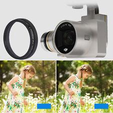 Anti-dust FPV Camera UV Lens Filter Cover Protecter for DJI Phantom 3 Drone New