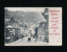 Derbyshire Derbys MATLOCK BATH Miniature c1902 u/b PPC 68x45mm