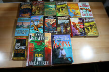 Anne Mccaffrey Books Fantasy Fiction, Dragons, Mythology Lot of 15 Free Shipping