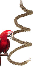 02067 Extra Large Abaca Rope Boing Bird Toy Cage Toys Cage Amazon Macaw Cockatoo