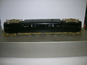 BRASS O SCALE 2 RAIL GG1 LOCO. , MAX GRAY ?  SOLD FOR PARTS ONLY, LOT # 21547