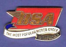 BSA MOTORCYCLE HAT PIN LAPEL PIN TIE TAC ENAMEL BADGE #2028