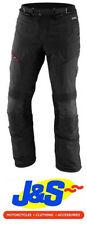 Pantalons noir avec doublure thermique pour motocyclette Homme