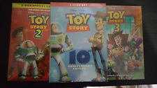 Toy Story 1 2 3 Trilogy DVD Box Set Classic Collection Set