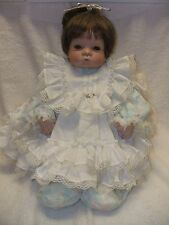 "20"" PORCELAIN  BABY DOLL ~ SUGAR BRITCHES  Doll Collecting or Doll Making"