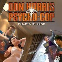 "DON HARRIS PSYCHO COP ""08 TRIADEN TERROR"" CD NEW"