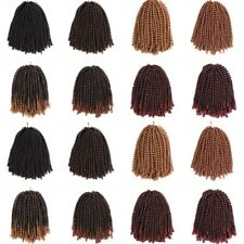 30Roots/Pack Ombre Synthetic Crochet Braids Spring Twist Braiding Hair Extension
