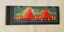 Advertising Matchbook 1939 WORLDS FAIR GOLDEN GATE INTERNATIONAL EXPOSITION