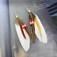 Feather Hook Drop/Dangle Fashion Earrings