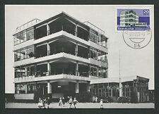 Pays-Bas MK 1969 architecture BAUHAUS Amsterdam Duiker Maximum Card MC d5776