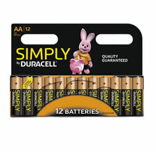 Duracell Simply AAA Alkaline Batteries - 1 Pack of 12
