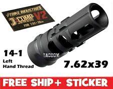 Strike Industries J-COMP V2 Japan 89 Comp Muzzle brake 7.62x39 14-1 Left Hand Th