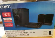 New ListingCoby Dvd-420 2.1 Channel 75 watts Home Theater System still in box