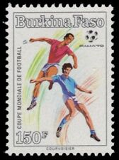BURKINA FASO 892 (Mi1227) - ITALIA '90 World Cup Football  (pf54994)