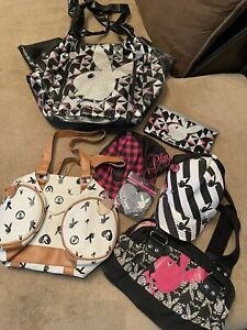 New & Used Playboy Purse Hat Wallet Pasty Mixed lot Vintage To New