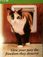 Interior Pet Door 4 Way Cat Small Dog 1 - 15 lbs PetSafe New Doggie