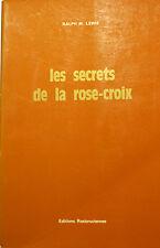 ROSE CROIX/LES SECRETS DE LA../R.M.LEWIS/1975/A.M.OR.C/IMPERATOR/H.S.LEWIS