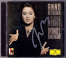 Anna NETREBKO Signiert IN THE STILL OF NIGHT Rimsky-Korsakov Daniel BARENBOIM CD