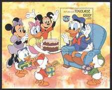 TOGO 1984 DISNEY/DONALD 50th/dessins animés/Mickey M/S d00140