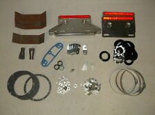 Large Miscellaneous Assortment of Vintage American Ironhorse Motorcycle Parts