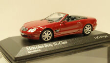 Minichamps 1.43 Mercedes Benz Sl-class 2001 red Metallic