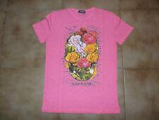 Tshirt Mezza Manica Girocollo Giallo Rosa Verde Blu Fluo Slim Taglia S,M,L,XL