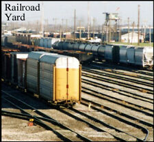 Train Sound CD: Sounds of a busy Railroad Yard