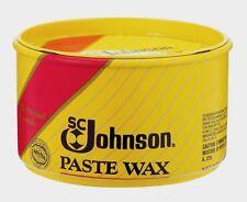 New SC Johnson Paste Carnauba Wax 1 lb. Wood Metal Cork Vinyl Satin Luster 00203